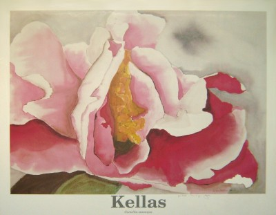Judi Kellas 1991 poster, handsigned to Neil Mecaskey