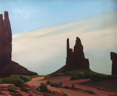 Raymond Eastwood, original oil, Monument Valley