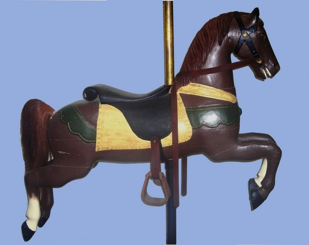 U.S. Merry-Go-Round Co. carousel horse, circa 1890's